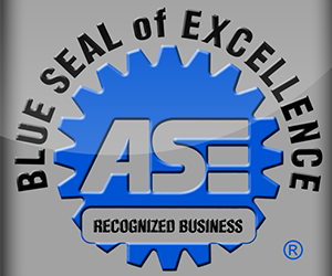 Blue Seal of Excellence - ASE Recognized Business